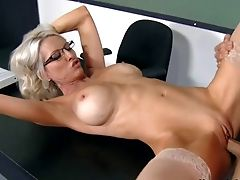Professor Emma Starr Is A Brilliant Bodied Cougar With Hefty