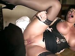 Kerry Louise Is A Tattooed Cougar With Hefty Tits. She Meets Danny And Starts Sucking His Big Man-meat. In Comeback He Penetrates Deep Inwards Her Yum