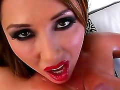 Fantastic Asian Honey Kianna Dior Is Doing The Best Funbag Suck Off To Jonni Darkko