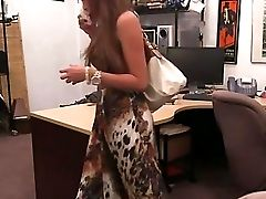 Pallid Teenage Fucked On Desk First-ever Time She