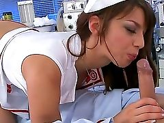 Gorgeous Nurse Eliska Cross Hugs Her Patients Dick With Her Supah Cock-squeezing Asshole