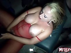 Wifey Mass Ejaculation At Swinger's Club