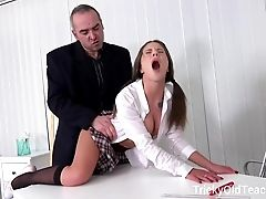 Tricky Old Educator - Sexy Youthfull Chicks Are So Lucky
