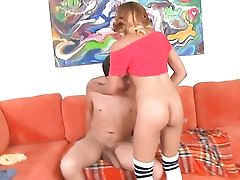Blonde Honey Likes Another Nice Money-shot Session