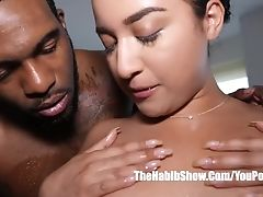 Thick Booty Mexican Veronica Gets Fucked By Big Black Cock