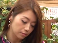 Very Lucky Dude Films In Point Of View While Duo Of Asian Cuties Give Head