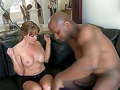 Lucky Biz Lady Shayla Laveaux Wants To Devote A Weekend For A Real Fucky-fucky, So She Called Big Black Man With A Powerful Dick That Truly Can Please