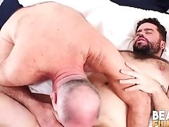 Bearfilms Youthful Tony Rivers Hammered By Mentor Cub Big Shaft