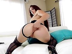 Mandy Muse Is A Big Booty Milky Female In Black