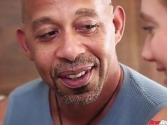 Super-naughty Babysitter Aj Applegate Is Fucked By Black Dilf Shane Diesel