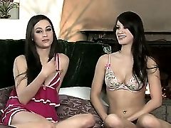 Ravishing Brown-haired Georgia Jones Emerges In The Interview In Her Sexy Undergarments