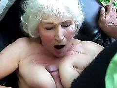 Look At Gonzo Scene With Old Whore Norma Who Loves Titfuck