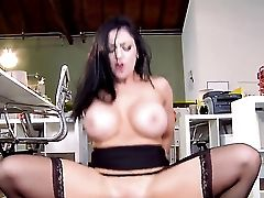 Audrey Bitoni With Big Boobies Takes Tyler Nixons Ram Cane Doggystyle