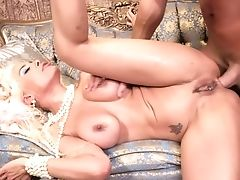 Absolute Madness With Luna Starlet Attempting Costume Play Rectal