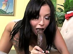 Blessed Brown-haired Hoe Aria Aspen Loves Working On Supah Lengthy Big Black Cock