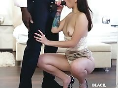 Privateblack - Colombian Honey Matilde Ramos Rims & Fucks Big Black Cock