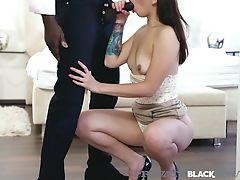 Privateblack - Colombian Honey Matilde Ramos Rims & Fucks Big Black Cock