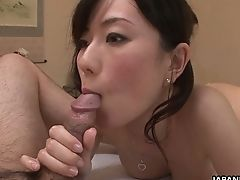 Brilliant Masseuse Manami Komukai Wanks Dick And Gives A Blow-job In Sixty-nine