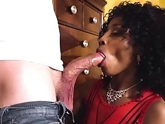 Mom And Daughter-in-law Spear Sharing In Raw Interracial