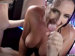 Lucky Horny Road Employees Are Seduced By Lusty Bitches Who Wanna Some Intercourse