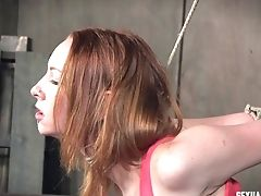 Raunchy Tart Gets Rammed By A Truly Horny Duo In The Chamber