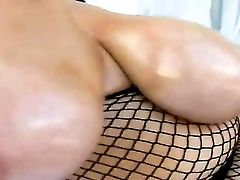 While Perverted Boy Billy Slide Is Having His Camera On And Is Filming This Amazing Stunner Samantha 38g, While She Is Wearing An Awesome Fishnet All