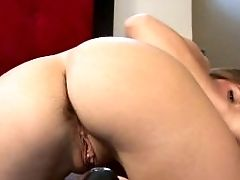 Flawless Brown-haired Unexperienced Playing With Her Coochie