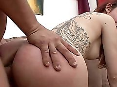 Stud's Steel Inches Drive Sandy-haired Fuckslut Crazy