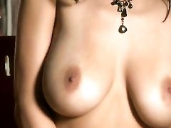 Jaime Hammer Touches Her Raw Slot And Breasts In A Playful Manner