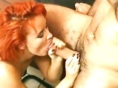 Beautiful Red-haired Facial Cumshot 35