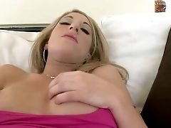 Blonde Haired Cutie Tayllor Is A First-ever Timer. This Ecstatic