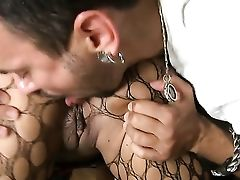 Voodoo Buries His Sturdy Love Wand In Supah Sexy Myeshia Nicoles Mouth
