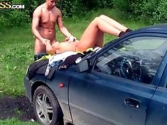 Horny Nubile Dark Haired Jocelyn And Her Beau Have Wild Romp